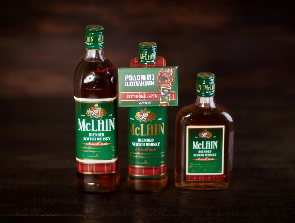 McLain blended scotch whisky 05
