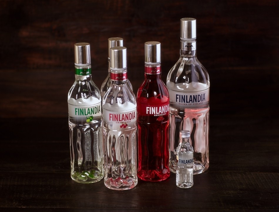 Finlandia Vodka Cranberry 375% 05