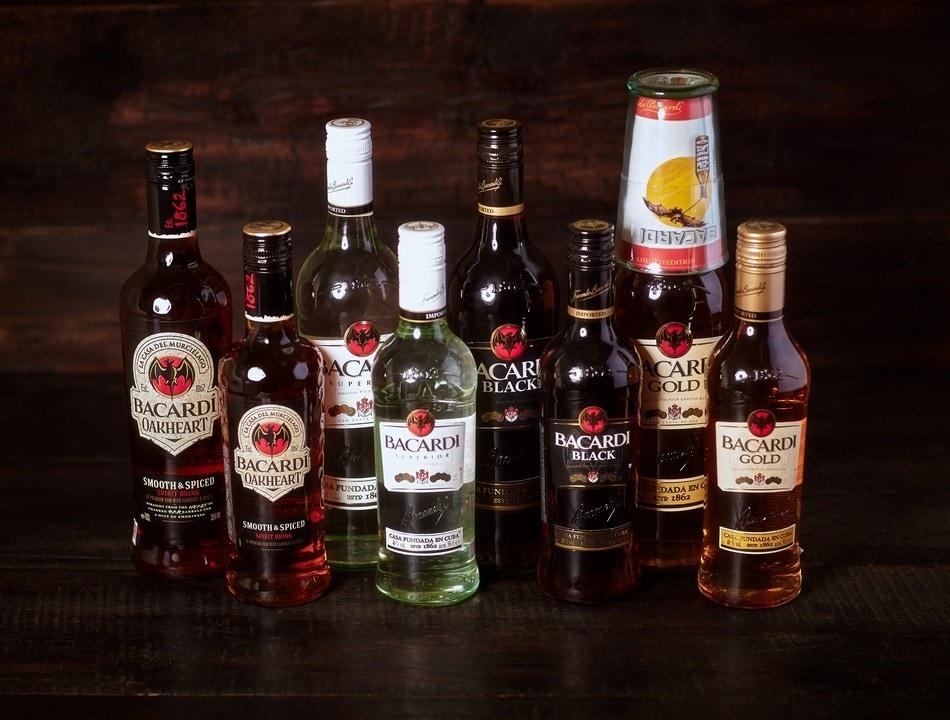 Не сильно алкогольные напитки