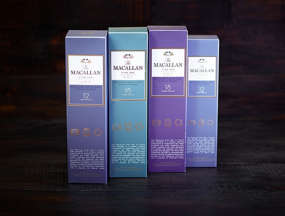 Виски The Macallan Fine Oak 15 YO 43% 07