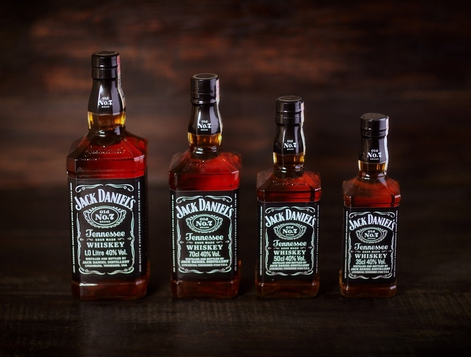 Jack Daniels Black Label Bourbon 07 л